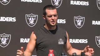 Raiders Derek Carr: