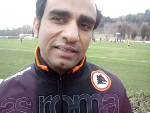 Football Soccer Coaching Courses - Coaches training with AS Roma & AC Milan Italy