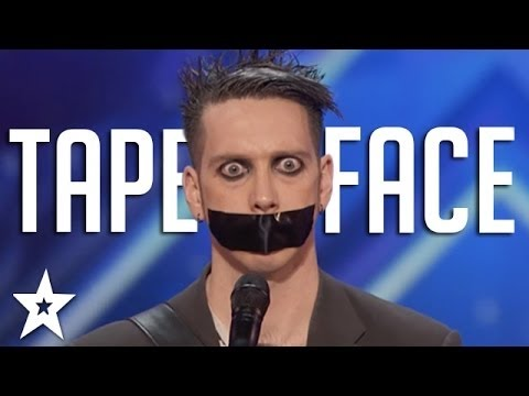 Tape Face Auditions and Performances | America's Got Talent 2016 Finalist #HD (видео)
