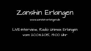 Zanshin Erlangen - Kampfkunst LIVE Interview vom 20.04.2015, Radio Unimax Erlangen