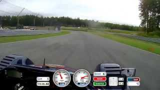 preview picture of video 'Monticello Motor Club Radical SR8 Track Record / Fastest Lap 2:10.5 - September 2014'