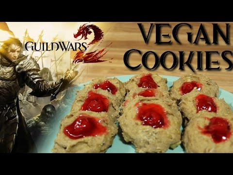 EASY Healthy Vegan Cookie Recipe (from GW2) | Guild Wars 2 Tribute