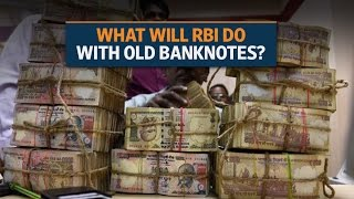 Demonetisation: What will RBI do with old Rs 500 and Rs1,000 banknotes?