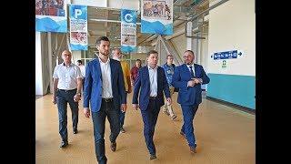 Сергей Фургал оценил готовность Арены «Ерофей» к матчам СуперBandy