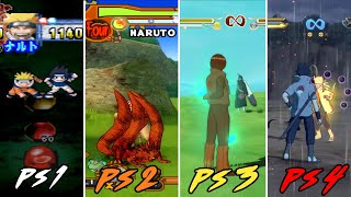 Evolution Of The Naruto Games For PlayStation/Xbox (2003-2016)