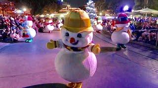 Disneyland Christmas Season 2019 Opening Day - Snow on Main Street / Small World Holiday & MUCH MORE