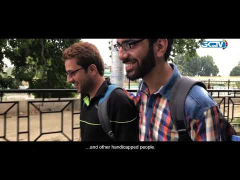 Visually-impaired Kashmir duo defying odds