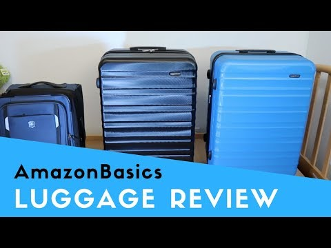 AmazonBasics Hardside Spinner 28″ Luggage Review