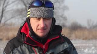 Ловля зимой на малых речках