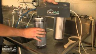 Ideal H2O - 10 Inch Dechlorinator - Replace Coconut Carbon Filter