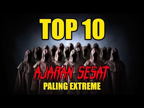 TOP 10 Ajaran Sesat Paling Extreme