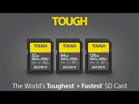 Sony SF-G Tough SDXC UHS-II (SDXC, 64GB, U3, UHS-II)