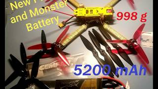 Drone FPV Long Range Drone bigger than Mavic Pro 5200 mAh lipo ColoradoJerry FPV freestyle