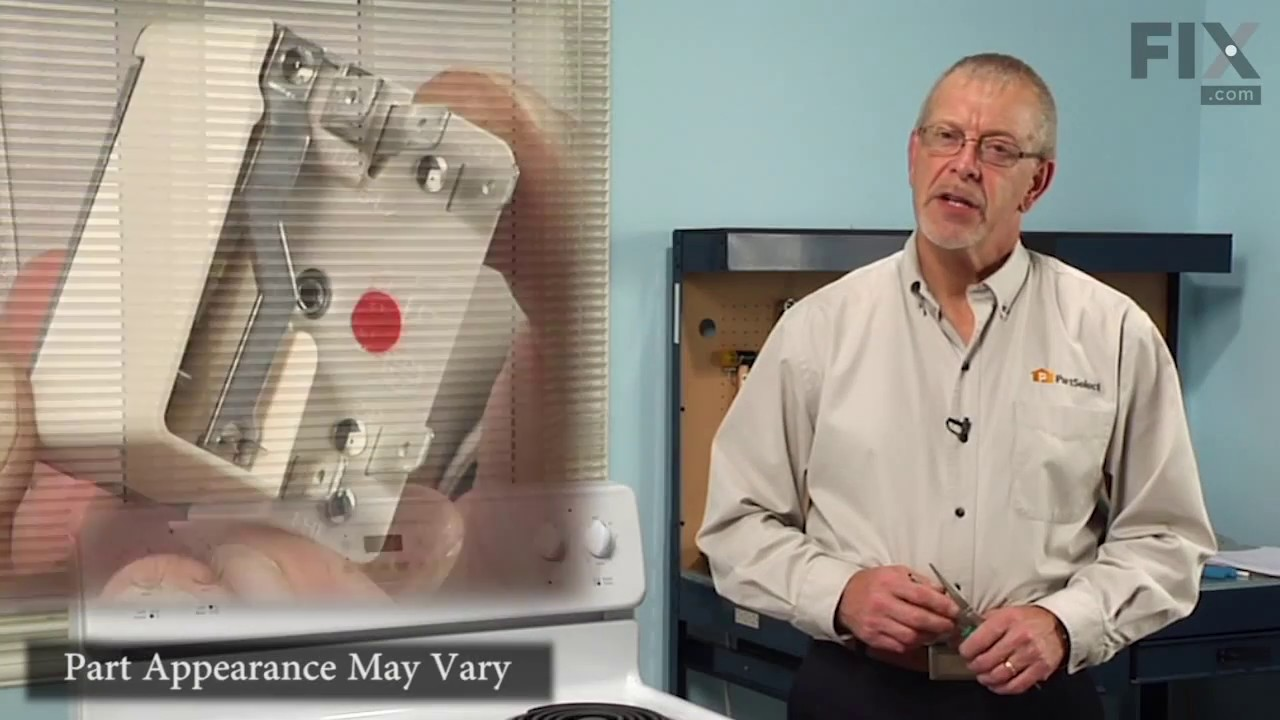 Replacing your Frigidaire Range Infinite Burner Switch