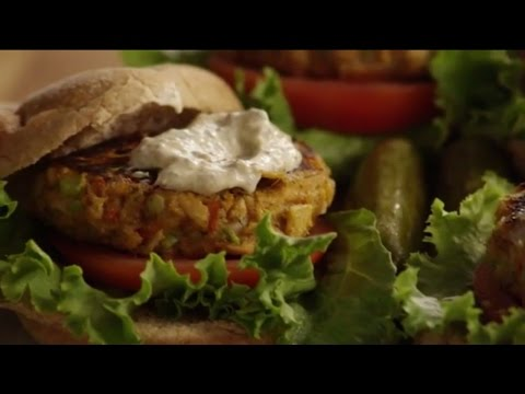 How to Make Tuna Burgers   Fish Recipes   Allrecipes.com