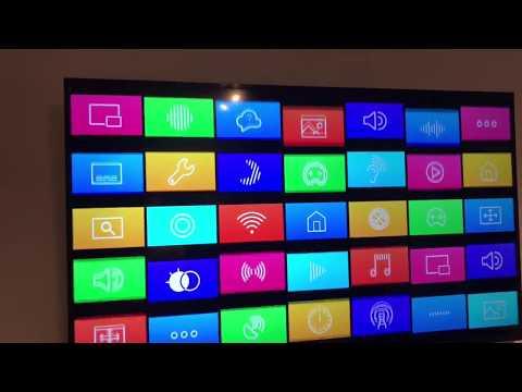 Installation Samsung Smart TV MU6199 58 Zoll