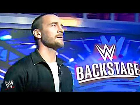 CM Punk RETURNS To The WWE! - WWE Backstage Show 2019