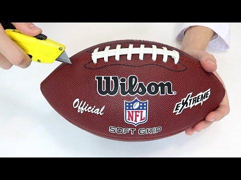 Qué Hay Dentro de un Balón de Fútbol Americano de la NFL  91bd9754de8
