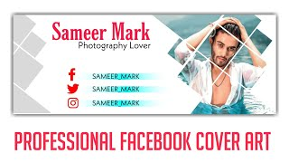 How To Make A Stylish Professional Facebook Cover Photo With Picsart - New Picsart Tutorials 2020