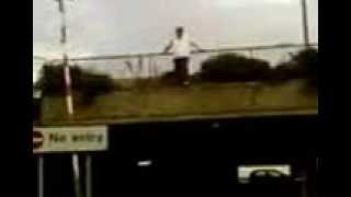 preview picture of video 'Freerunning FAIL at braehead glasgow'