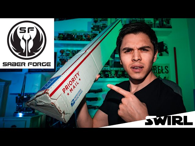How I got my SABERFORGE lightsaber in LESS THAN 3 WEEKS!