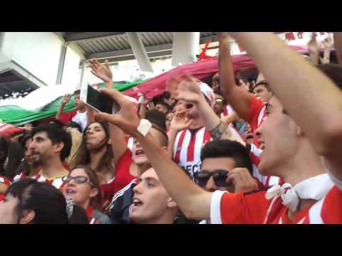 """""""recibimiento estudiantes..13 del 03 de 2016"""" Barra: Los Leales • Club: Estudiantes de La Plata"""