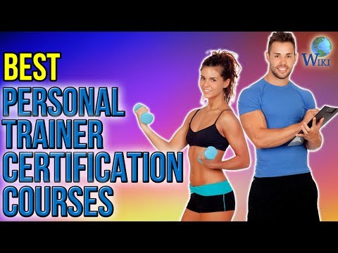 3 Best Personal Trainer Certification Courses 2017 - YouTube