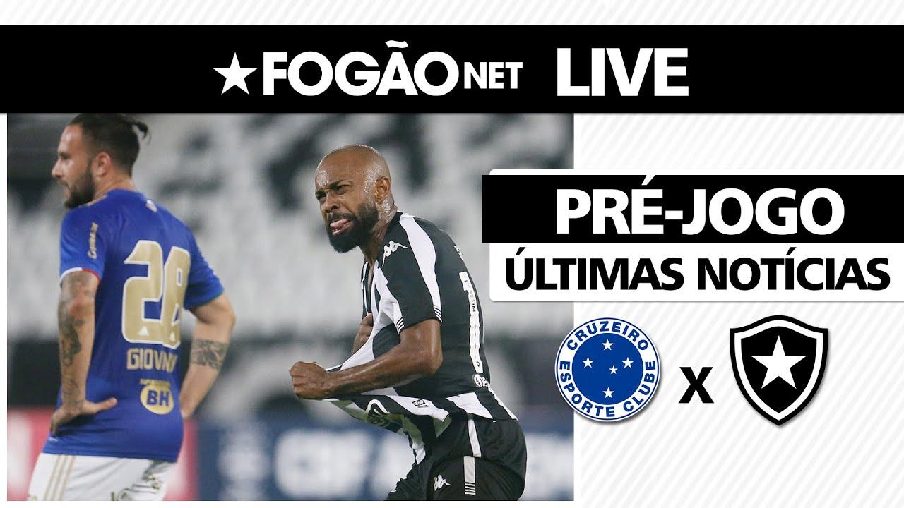 LIVE   Cruzeiro x Botafogo – onde assistir, prováveis escalações e últimas notícias