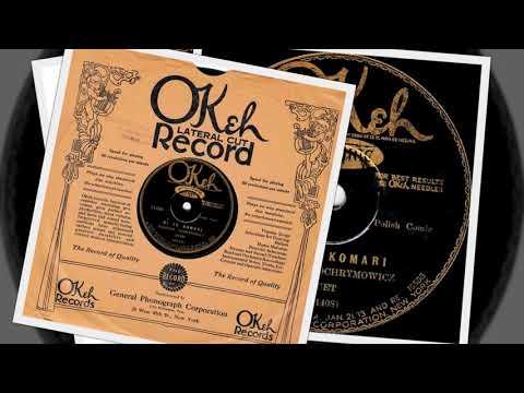 Polish 78rpm recordings. 1928, OKeh 11400. Bliźniaki / The twins