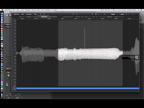 Logic Pro X – Video Tutorial 16 – Editing Audio in the File Editor (aka Sample Editor)