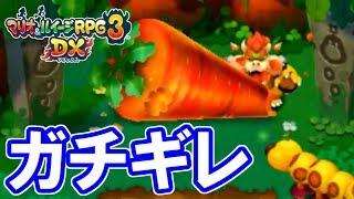 畑を荒らされたハナチャンがガチギレ【マリオ&ルイージRPG3DX実況#09】