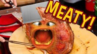 Annoying Orange - Meaty Mayhem! (Supercut)