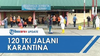 120 TKI Jalani Karantina di Eks Bandara Polonia Medan setelah Dideportasi dari Malaysia