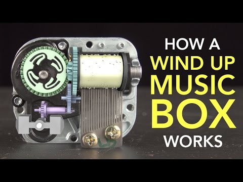 A Music Box Is Secretly An Engineering Marvel