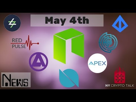 NEO News May 4th 2018 - Ontology | Loopring | Switcheo | Apex | Effect.AI | Red Pulse | Aphelion