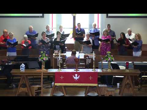 St. Andrew United Methodist Church, Chancel Choir, May 27, 2018, St. Albans, WV