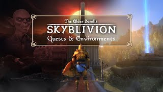 Oblivions Quests and Environments Remastered and PREVIEW SKYBLIVION Development Diary Ep 2