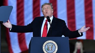 Donald Trump and Joe Biden hold rallies on eve of key Georgia election