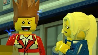 ПОБЕГ БЕШЕНОГО РЕКСА! Чейз снова в деле! Игра Лего сити LEGO City Undercover. Серия 1
