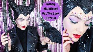 Disney Maleficent 'Get the Look' using Poundland Villains makeup #ad