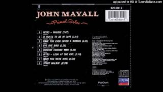 John Mayall - Primal Solos - 02 - It Hurts To Be In Love
