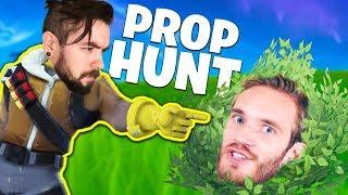 Fortnite Prop Hunt Pewdiepie HACKED My Game! (Epic Update)