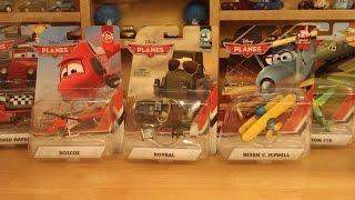Mattel Disney Planes 2016 Case D Roybal Bessie C Flywell Roscoe Piston Refurbished Mayday Jigsaw #36