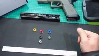 How to distinguish ice    breaker's size and correspondence pistols