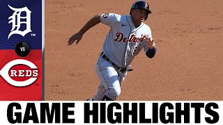 JaCoby Jones Smashes Go-ahead Homer In 9th | Tigers-Reds Game Highlights 7/25/20