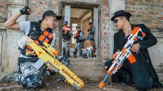 Video Nerf Guns War : Police Men Of SEAL TEAM Special Brave Attack Black Leader Dangerous Criminal Group MP3, 3GP, MP4, WEBM, AVI, FLV September 2019