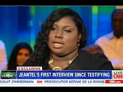 Rachel Jeantel Interview On Piers Morgan CNN - Part 2 - July 15, 2013