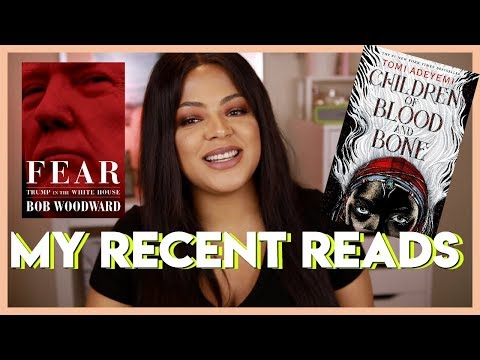 RECENT READS #1 | Thrillers, Political Novels, African Fantasy Novel & More!