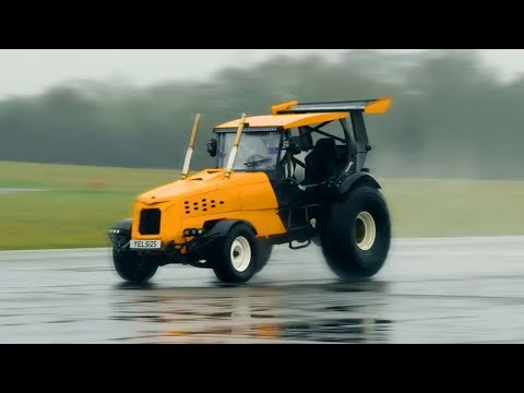 The Record Breaking 'Track-tor' | Top Gear: Series 25