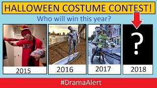 4th Annual #DramaAlert Halloween Costume Contest!